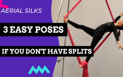 No Splits? No Problem! 3 Easy Aerial Silks Poses if You Don't Have Splits